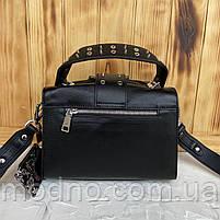 Женская стильная кожаная сумка через плечо Polina & Eiterou, фото 8