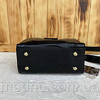 Женская стильная кожаная сумка через плечо Polina & Eiterou, фото 9