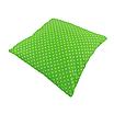 Подушка, 40*40 см, (бавовна), (горох на зеленому), фото 2