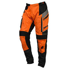 Мотоштаны Kenny Enduro Black/Orange