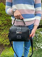 Женская стильная кожаная сумка через плечо Polina & Eiterou, фото 3