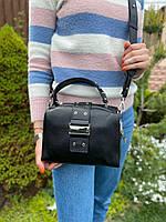 Женская стильная кожаная сумка через плечо Polina & Eiterou, фото 5