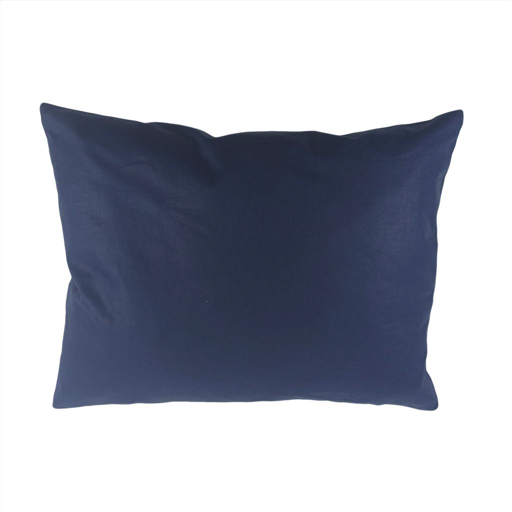Подушка, 45*35 см, (бавовна), (темно-синій)