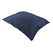 Подушка, 45*35 см, (бавовна), (темно-синій), фото 2
