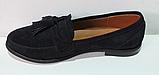Туфли замшевые женские от производителя модель ЖК300-2, фото 2