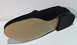 Туфли замшевые женские от производителя модель ЖК300-2, фото 3