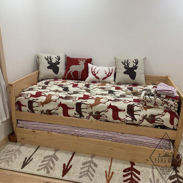 """Ліжко з додатковим спальним місцем """"Емма"""""""