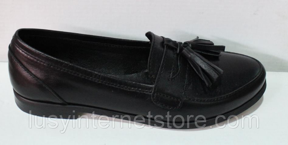 Туфли кожаные женские от производителя модель ЖК300-1