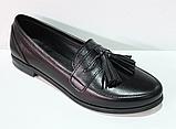 Туфли кожаные женские от производителя модель ЖК300-1, фото 2