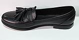 Туфли кожаные женские от производителя модель ЖК300-1, фото 3