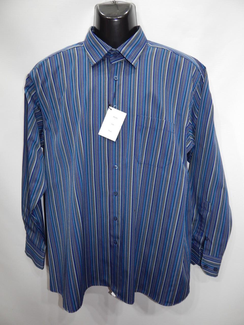 Чоловіча сорочка з довгим рукавом 032ДР р. 52