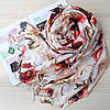 Шарфик женский турецкий хлопковый 108007, фото 2