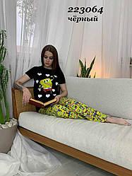 Пижама женская Губка боб:)