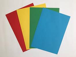 Самоклеящиеся этикетки на формате А4 цветные матовые