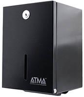 Диспенсер для т/бум. в пачке метал черный D 402Black