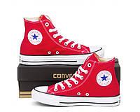 Кеды конверс Converse Style All Star Красные высокие (42 р.) кеды олл стар / мужские кеды / женские кеды