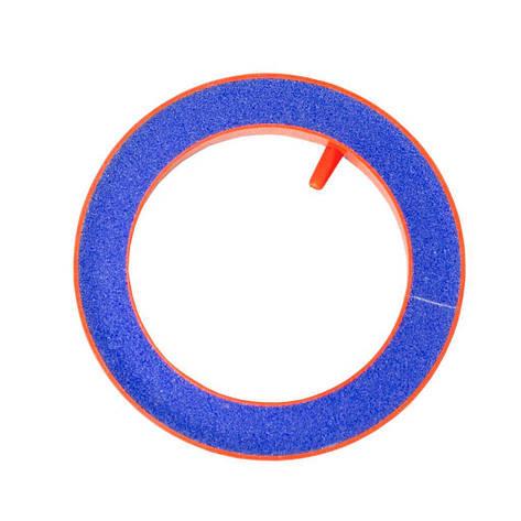 Воздушный камень оранжевый Round Polo 100мм для компрессора, фото 2