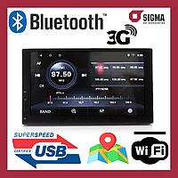 2Din Автомагнитола Sigma CP-1050A. Android магнитола с Bluetooth. Бесплатная доставка