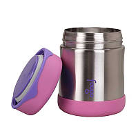 Термос детский для еды Thermos Stainless Steel Food Flask Pink 290 мл (113011), фото 1