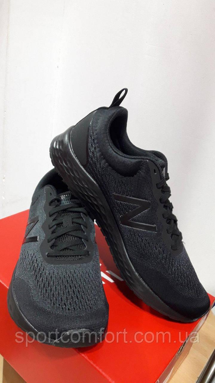 Кроссовки New Balance Fresh Foam черные сетка