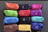 Надувной лежак кресло мешок Ламзак Розовый, фото 7
