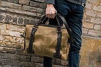 Кожаная сумка для ноутбука через плечо, Кожаная мужская сумка