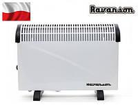 Электрический конвектор Ravanson CH-2000RT, с вентилятором