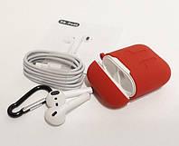 Беспроводные наушники AirPods UTM DS-POD2 White-Red