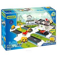 """Игровой набор """"Аэропорт"""" Kid Cars 3D Wader Конструктор"""