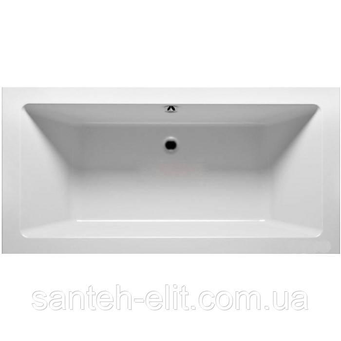 Ванна Kolo MODO 180*80см прямоугольная, центральный слив, с ножками SN7 (XWP1181000)