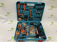 Шуруповерт Makita DF330 + большой набор инструментов 56 единиц