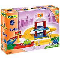 """Игровой набор """"Паркинг"""" Kid Cars 3D Wader Конструктор"""