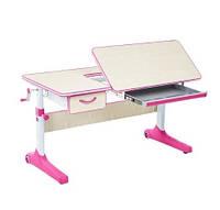 Парта-стол трансформер для школьников Cubby Imparare Pink