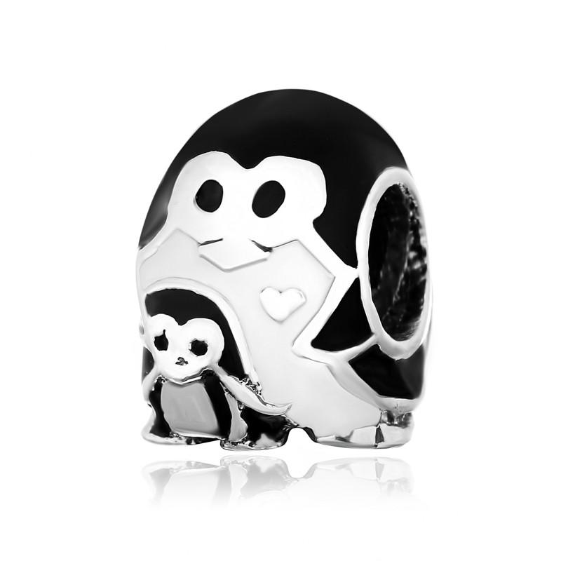 """Шарм для браслета """"Пингвинчики"""" (символ семьи)"""