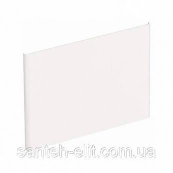 NOVA PRO  панель боковая для умывальника 50см, белый глянец (пол)