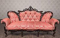 """Классический диван в стиле Барокко """"Белла"""" на заказ, от фабрики, из натурального дерева, элитный мягкий диван"""