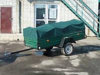 Одноосный прицеп для легкового автомобиля ЛЕВ-25 (2,5*1,3*0,51м)