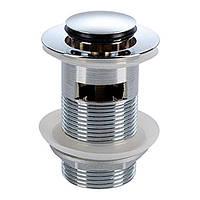 KOLO зливний клапан push–open, для умивальників з переливом, хром (пол.)