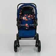 Детская коляска-трансформер Viki 86- C 130 АБСТРАКЦИЯ Гарантия качества Быстрая доставка, фото 2