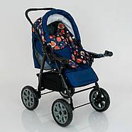 Детская коляска-трансформер Viki 86- C 130 АБСТРАКЦИЯ Гарантия качества Быстрая доставка, фото 4