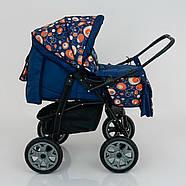 Детская коляска-трансформер Viki 86- C 130 АБСТРАКЦИЯ Гарантия качества Быстрая доставка, фото 6