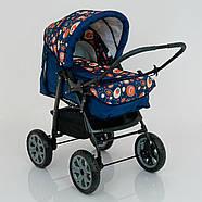 Детская коляска-трансформер Viki 86- C 130 АБСТРАКЦИЯ Гарантия качества Быстрая доставка, фото 10