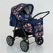 Детская коляска-трансформер Viki 86- C 130 АБСТРАКЦИЯ Гарантия качества Быстрая доставка, фото 5
