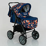 Детская коляска-трансформер Viki 86- C 130 АБСТРАКЦИЯ Гарантия качества Быстрая доставка, фото 8