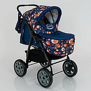Детская коляска-трансформер Viki 86- C 130 АБСТРАКЦИЯ Гарантия качества Быстрая доставка, фото 7