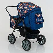 Детская коляска-трансформер Viki 86- C 130 АБСТРАКЦИЯ Гарантия качества Быстрая доставка, фото 9