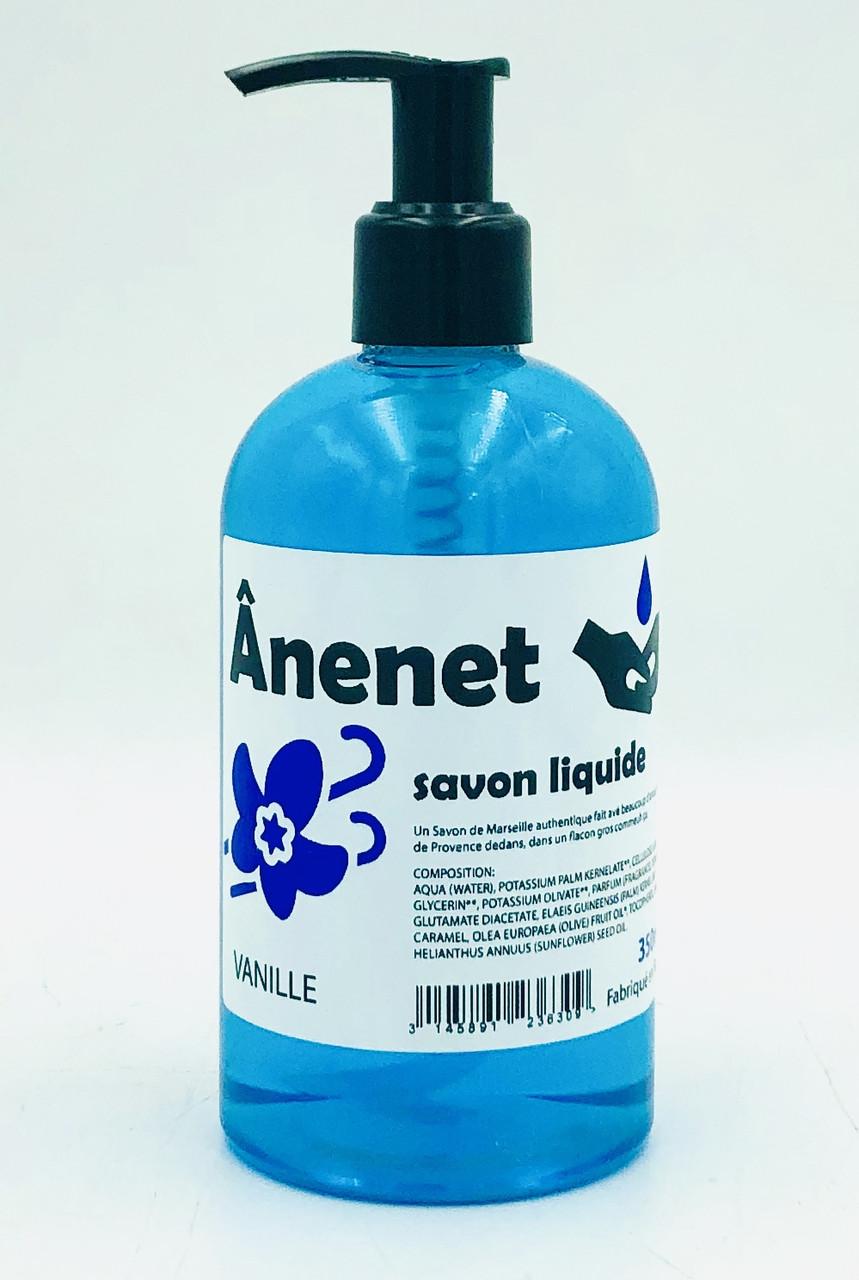 Жидкое мыло для рук 350 мл Anenet аромат ванили