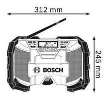 Радио Bosch GML 10,8 V-LI (0601429200) (без аккумулятора и ЗУ)