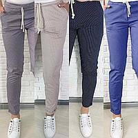 Женские брюки в горох,брюки женские,штаны женские, фото 1