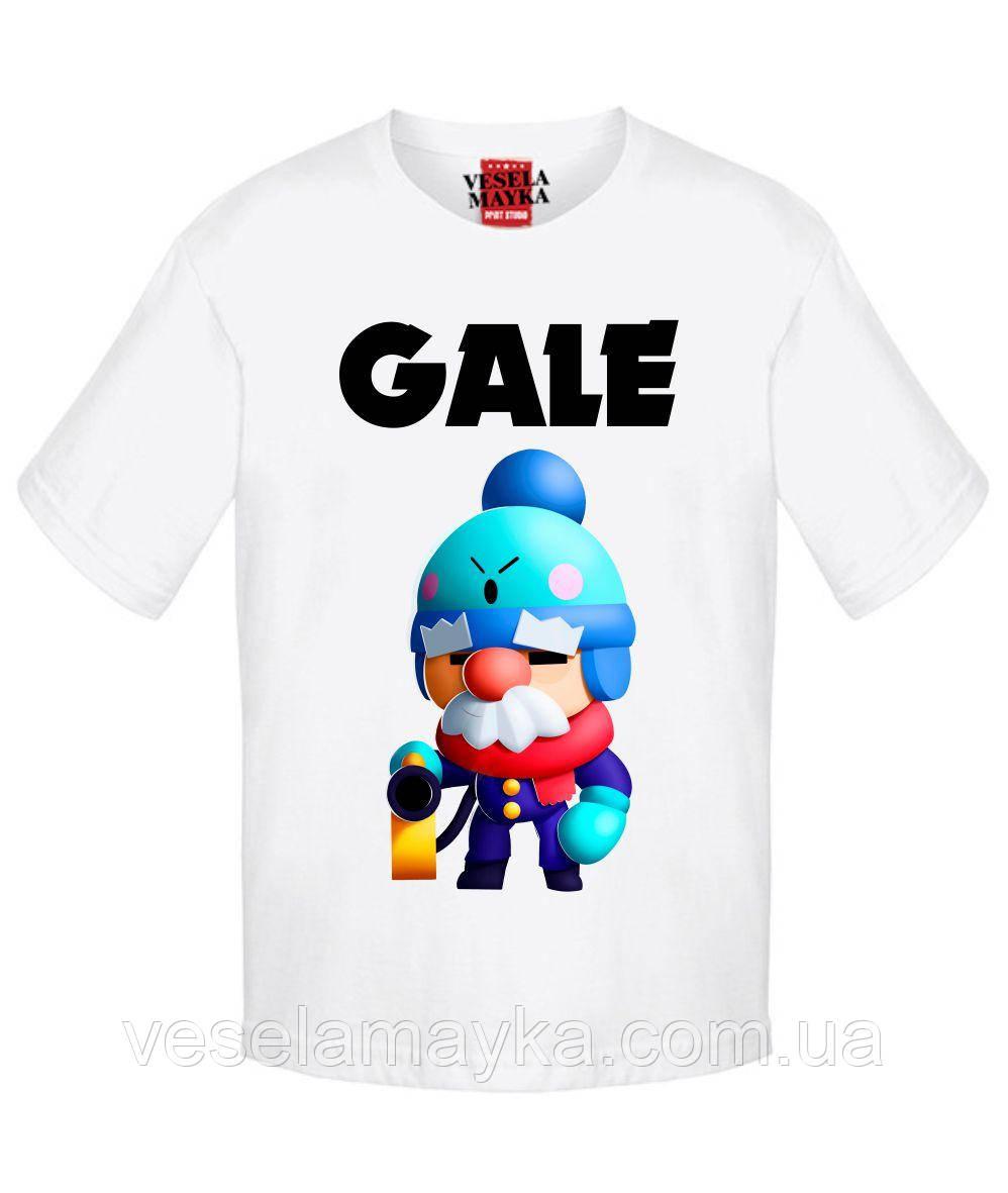 Детская футболка Бравл Старс Гейл (Gale)